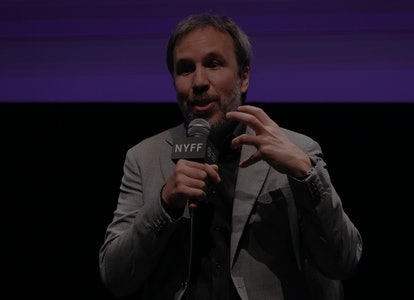 NEW YORK, NEW YORK - OCTOBER 07:  Director Denis Villeneuve takes part in a Q&A following the U.S. p...