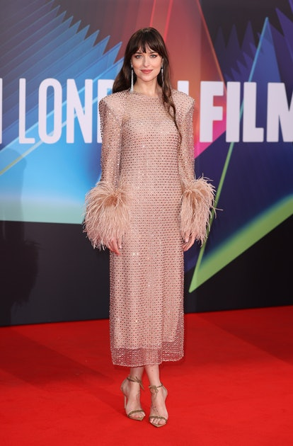 "Dakota Johnson attends ""The Lost Daughter"" UK Premiere"