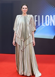 "Caitriona Balfe attends the ""Belfast"" European Premiere"
