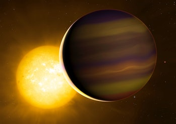 HD 209458 is a star with an extrasolar planet. The planet, HD 209458b or Osiris, orbits so close to ...