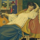 The Sleeping Beauty, 1903. Artist Joseph Edward Southall. (Photo by Heritage Art/Heritage Images via...