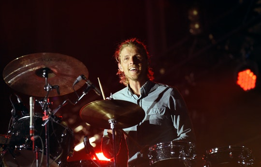 LAS VEGAS, NV - MAY 08:  Drummer Mark Pontius of Foster the People performs onstage during Rock in R...