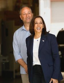 Los Angeles, CaliforniaJuly 4, 2021Vice President Kamala Harris and Second Gentleman Douglas Emhoff ...