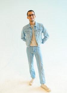 NEW YORK, NEW YORK - SEPTEMBER 10: Christian Cowan attends the Christian Cowan SS22 RUNWAY show duri...