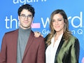 Darren Criss and Mia Swier's baby announcement on Instagram is so cute.