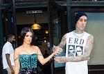 Kourtney Kardashian's 'SNL' Instagram with Travis Barker is wild.