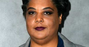 LOS ANGELES, CALIFORNIA - OCTOBER 12: Roxane Gay attends the 2019 Hammer Museum Gala In The Garden a...