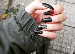 The nails I had for Halloween