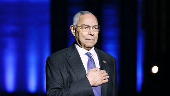WASHINGTON, DC: In this image released on May 28, 2021,  Gen. Colin Powell (Ret.) on stage during th...