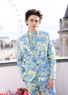 Timothée Chalamet attends the Dune Photocall in London