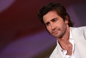 """VENICE, ITALY - SEPTEMBER 03: Jake Gyllenhaal attends the red carpet of the movie """"The Lost Daughter..."""