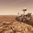 UNSPECIFIED: In this concept illustration provided by NASA, NASA's Perseverance (Mars 2020) rover wi...