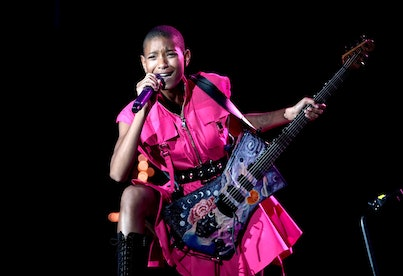 LAS VEGAS, NEVADA - SEPTEMBER 17: Willow Smith performs onstage during the 2021 Life Is Beautiful Mu...