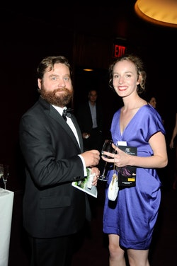 Zach Galifianakis has two sons with his wife, Quinn Lundberg.