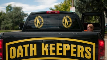 """A pickup of  an Oath Keeper from Idaho in Bozeman, Montana. The """"Oath Keepers"""" are a national, ultra..."""