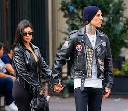 Kourtney Kardashian and Travis Barker are engaged.