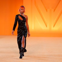 Marcell von Berlin designer Marcell Pustul opens about his '80s-inspired Spring 2022 Collection.