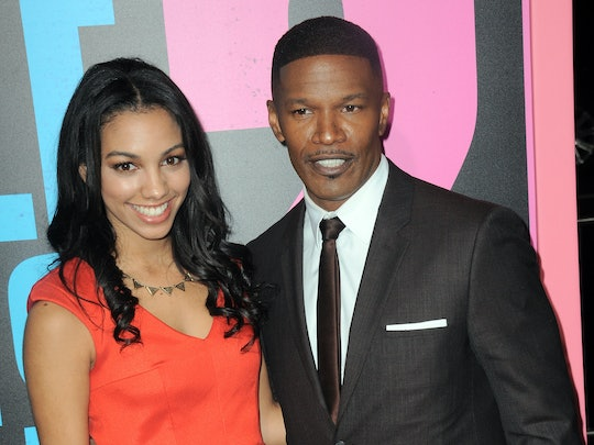HOLLYWOOD, CA - NOVEMBER 20:  Actor Jamie Foxx and daughter Corrine Bishop arrive for the Premiere O...