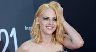 """Kristen Stewart attends """"Spencer"""" UK Premiere."""