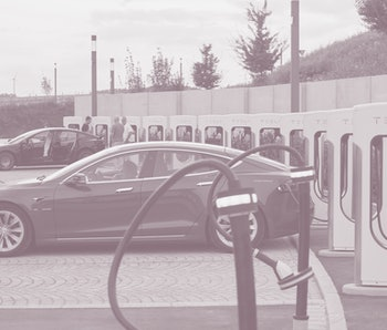 Zusmarshausen, Germany - August 21: (BILD ZEITUNG OUT) 12 fast-charging stations are reserved for Te...