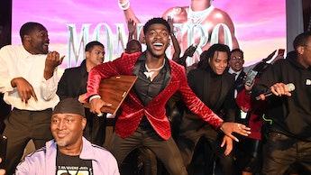 ATLANTA, GA - OCTOBER 20: Lil Nas x and Dallas Austin attend BMI Presents A Night With Lil Nas X Awa...