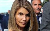 BOSTON, MA - AUGUST 27: Lori Loughlin and her husband Mossimo Giannulli, right, leave the John Josep...