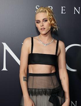 "Kristen Stewart attends the Los Angeles premiere of Neon's ""Spencer"""