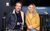 NEW YORK, NY - FEBRUARY 25:  Actors Dax Shepard and Kristen Bell visit the SiriusXM Studios on Febru...