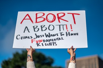 Here are the 16 best signs from the abortion rights marches on Oct. 2.