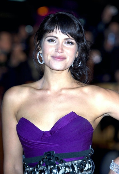 Gemma Arterton Arrives For The World Premiere Of 'Quantum Of Solace' At The Odeon Leicester Square I...