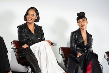 "Tessa Thompson and Ruth Negga attend In Creative Company's ""Passing"" screening"