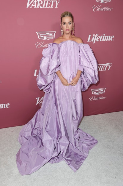 BEVERLY HILLS, CALIFORNIA - SEPTEMBER 30: Honoree Katy Perry attends Variety's Power Of Women at Wal...