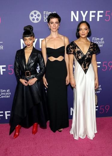 "Ruth Negga, Rebecca Hall and Tessa Thompson attend Netflix's ""Passing"" premiere"