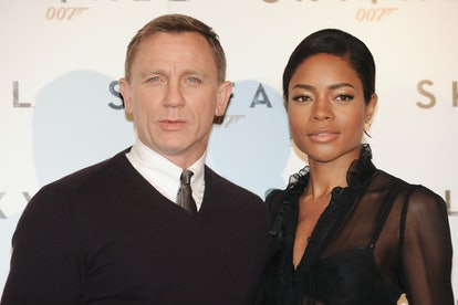 British actors Daniel Craig and Naomie Harris during the Skyfall film photocall at Hotle St. Regis. ...