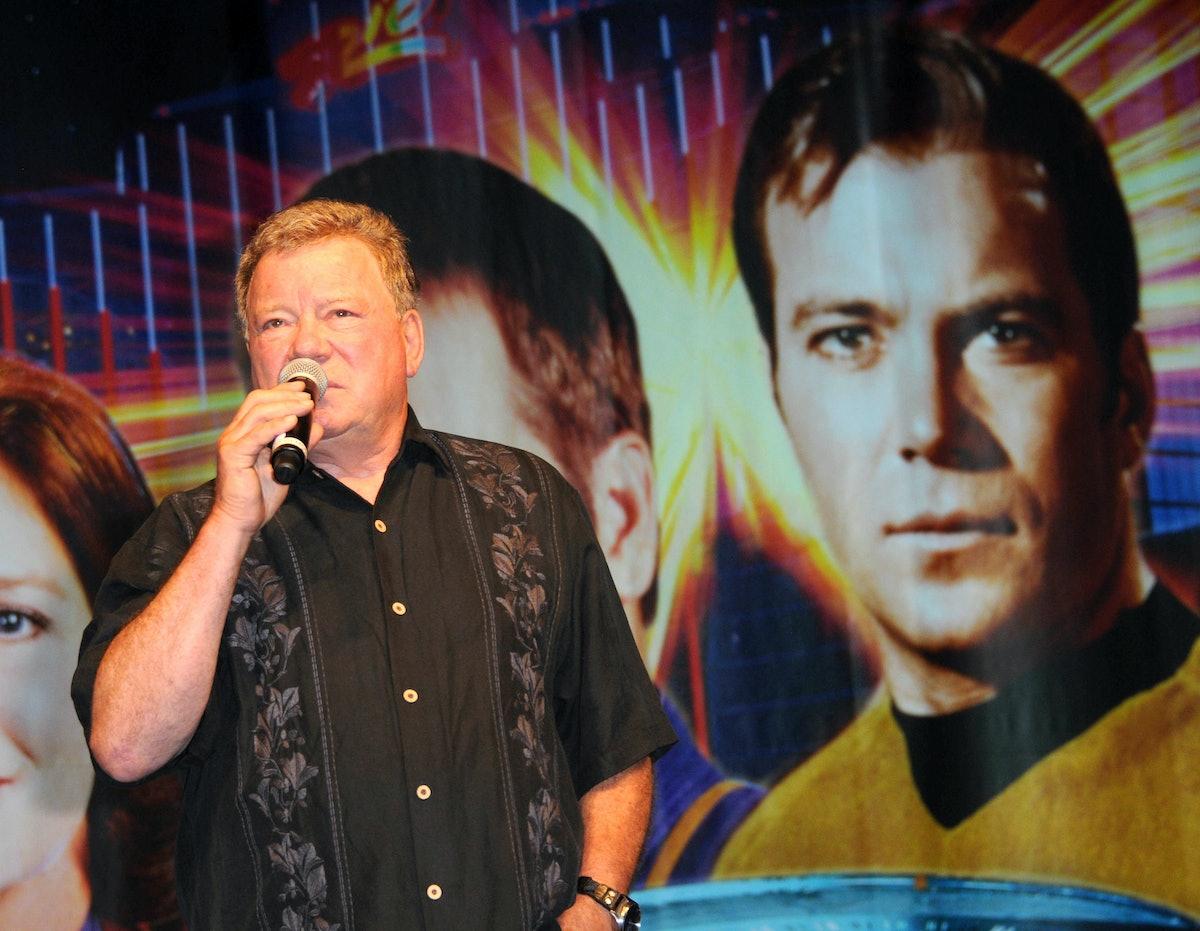 'Star Trek' actor William Shatner.