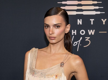 Emily Ratajkowski reportedly accused Robin Thicke of groping her.