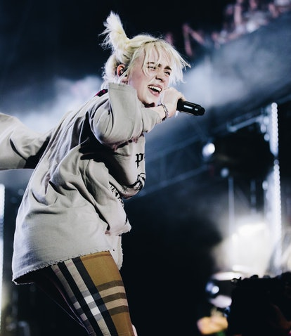 AUSTIN, TEXAS - OCTOBER 02: Billie Eilish performs onstage during Austin City Limits Festival at Zil...
