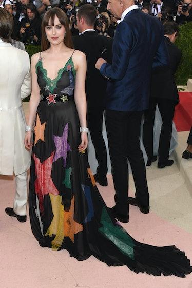 "NEW YORK, NY - MAY 02:  Dakota Johnson attends the ""Manus x Machina: Fashion In An Age Of Technology..."