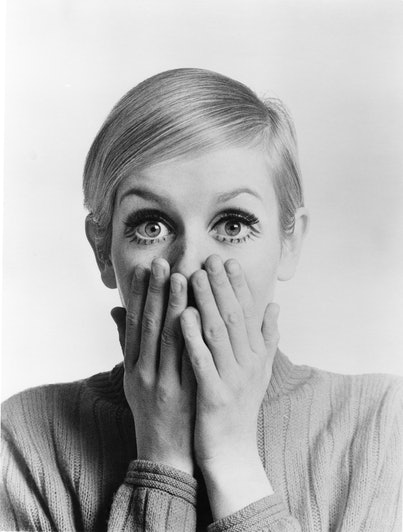 LOS ANGELES - 1967: English supermodel Twiggy poses for a portrait during the filming of 'Twiggy in ...