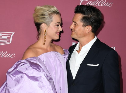 Katy Perry and Orlando Bloom attend Variety's Power Of Women: Los Angeles Event on September 30, 202...