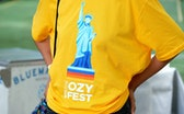 NEW YORK, NY - JULY 21:  Guests during OZY Fest 2018 at Rumsey Playfield, Central Park on July 21, 2...