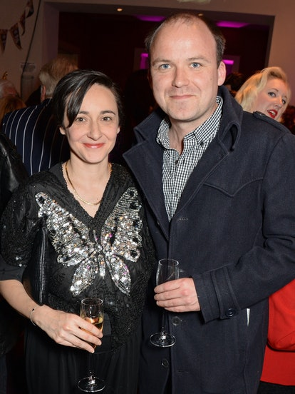 LONDON, ENGLAND - JUNE 05:  Pandora Colin (L) and Rory Kinnear attend an after party celebrating the...