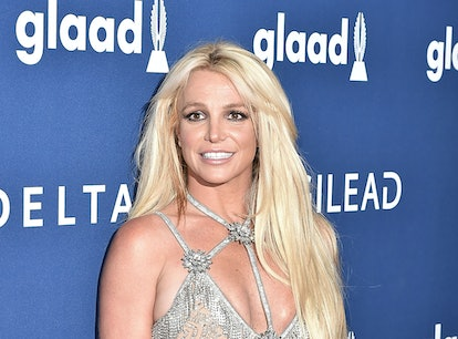 BEVERLY HILLS, CA - APRIL 12:  Britney Spears attends the 29th Annual GLAAD Media Awards - Arrivals ...