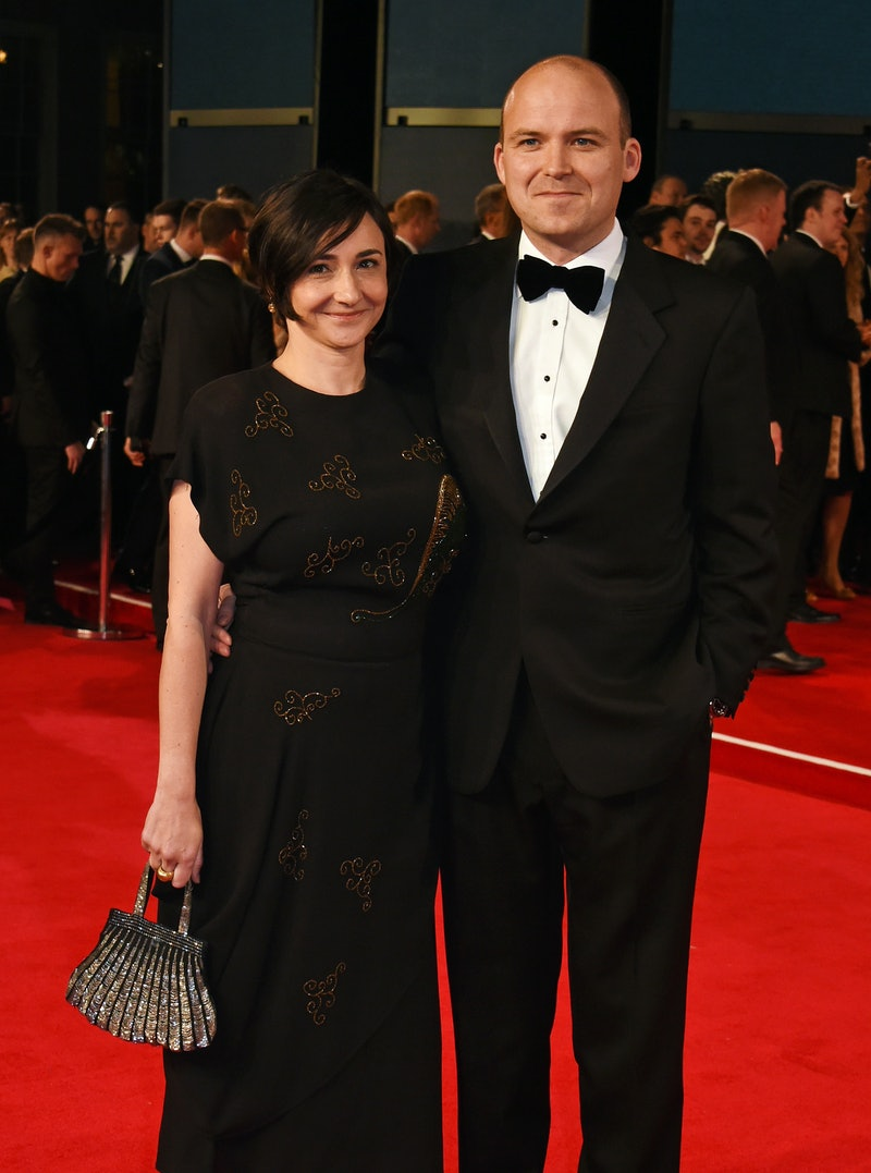 LONDON, ENGLAND - OCTOBER 26:  Pandora Colin (L) and Rory Kinnear attend the Royal World Premiere of...
