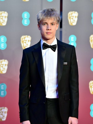 LONDON, ENGLAND - FEBRUARY 18:  Tom Taylor attends the EE British Academy Film Awards (BAFTAs) held ...