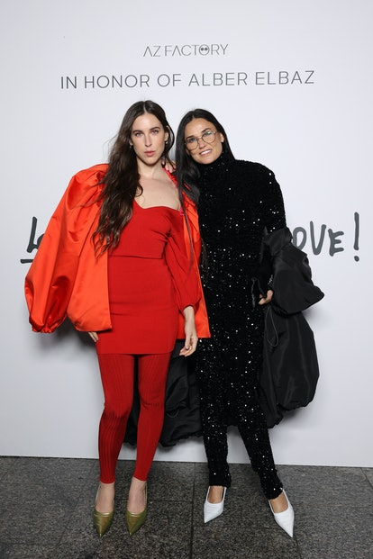 """Scout LaRue Willis and Demi Moore attend the """"Love Brings Love"""" Show"""