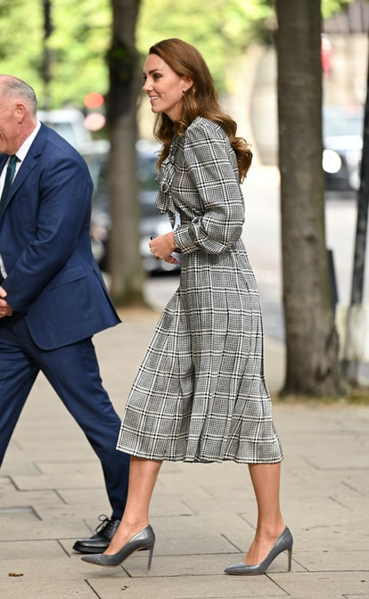 Kate Middleton visits the University College of London to meet with leading researchers to discuss n...