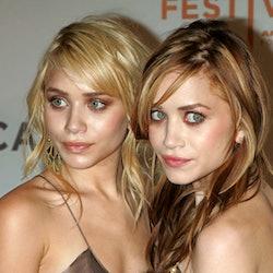 Ashley Olsen and Mary-Kate Olsen during 3rd Annual Tribeca Film Festival - New York Minute Premiere ...