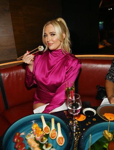 LAS VEGAS, NEVADA - SEPTEMBER 21: Television personality Erika Jayne attends SUSHISAMBA Las Vegas Tr...