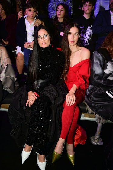 """Demi Moore and Scout LaRue Willis attend the """"Love Brings Love"""" Show – In Honor Of Alber Elbaz By AZ..."""